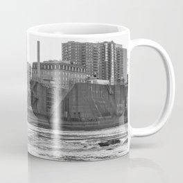 Stone Arch Bridge Black and White Coffee Mug