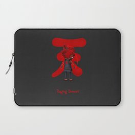 Raging Demon Laptop Sleeve