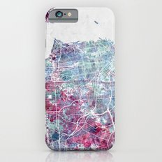 San Francisco map iPhone 6s Slim Case
