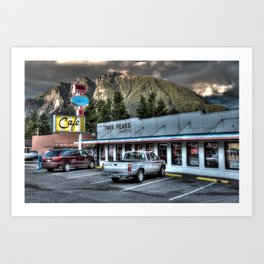 Twedes Cafe Art Print