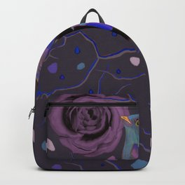 Blue Tears of a Rose Backpack