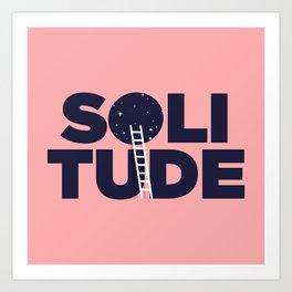happy solitude Art Print