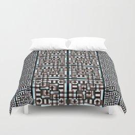 Mosaic Geometric Duvet Cover