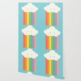 Proud rainbow cloud Wallpaper