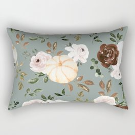 Autumn is calling - pumpkins are falling Rectangular Pillow