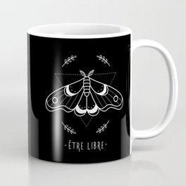 être libre - black Coffee Mug
