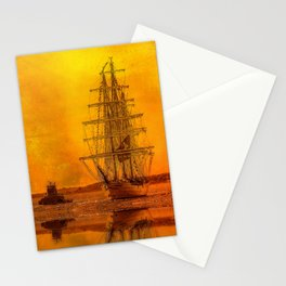 Tall Ships - Morning of Glory Stationery Cards