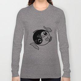 Fishy Yin Yang Long Sleeve T-shirt