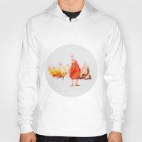 chicken Hoodies featuring Chicken by Ingo H. Klett