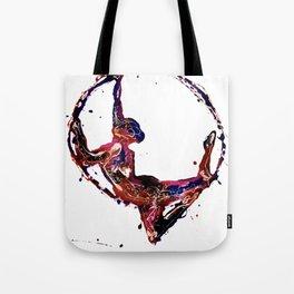 Splatter Hoop Tote Bag