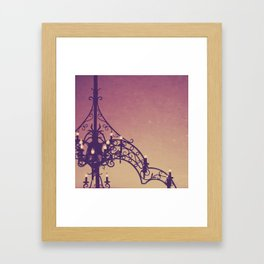 iron and light Framed Art Print