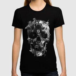 Kingdom Skull B&W T-shirt