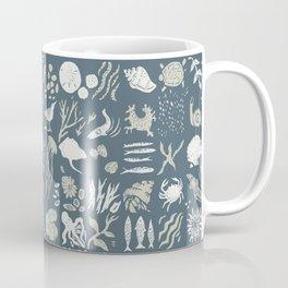 Coastal Story Blue Indigo Coffee Mug