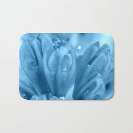 Flower in Blue   Blue Flowers   Blue Azalea   Nadia Bonello Bath Mat