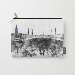 Mecca skyline in black watercolor Carry-All Pouch