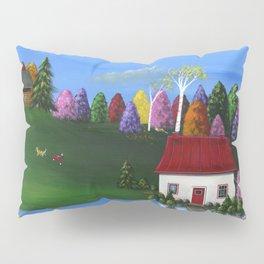 Hilly Hues Pillow Sham
