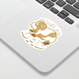 Guinea Pig Dad Sticker