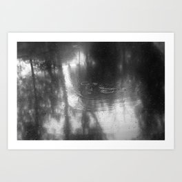 Water Ripples Art Print