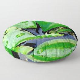 Peek  A Boo frog Floor Pillow