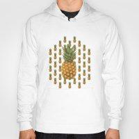 pineapples Hoodies featuring Pineapples by Brocoli ArtPrint