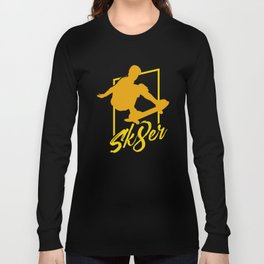 Sk8ter | Skater Skateboarding Long Sleeve T-shirt