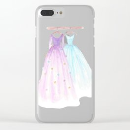 Two Dresses 2 Clear iPhone Case