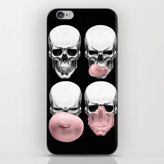 Skulls chewing bubblegum iPhone & iPod Skin