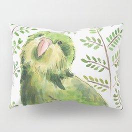 Kakapo in the ferns Pillow Sham
