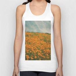 California Poppies 016 Unisex Tank Top