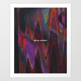 Digital Odyssey Art Print
