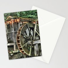 Water Wheel in Canada Stationery Cards