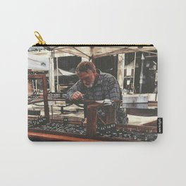 Hard at work Carry-All Pouch
