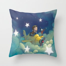 Dreams in the Stars Throw Pillow