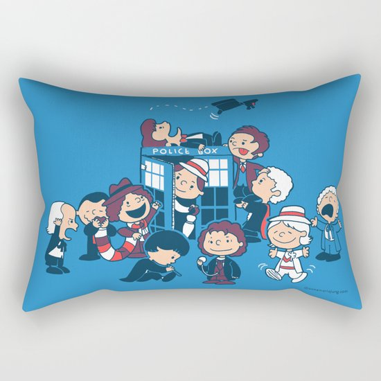 Who's Nuts? Rectangular Pillow