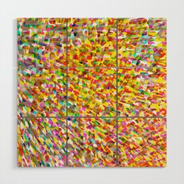 color space Wood Wall Art