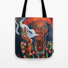 Old Gypsy Woman Tote Bag