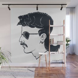 The Mullet Wall Mural