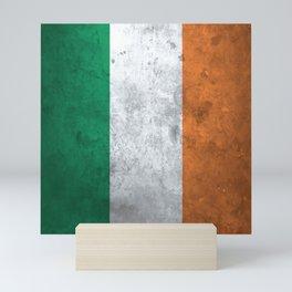 Distressed Irish Flag Mini Art Print
