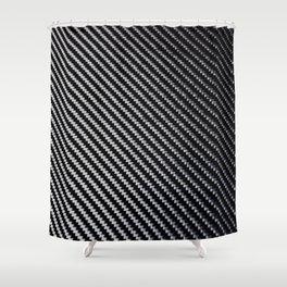 Carbon Fiber texture Shower Curtain