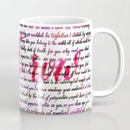 Front row red Coffee Mug