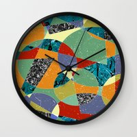 the 100 Wall Clocks featuring Abstract #100 by Ron Trickett