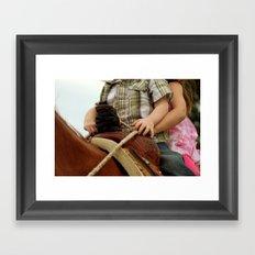 Put Your Hand On Mine Framed Art Print
