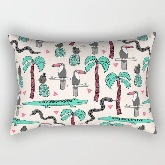 Tropical by Andrea Lauren Rectangular Pillow