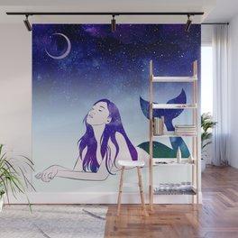 Starry Siren Wall Mural