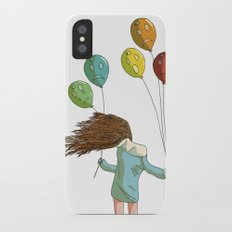 Baloons on wind Slim Case iPhone X