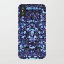 Robot World iPhone Case