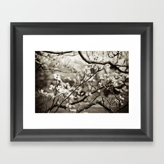 Surrounded by Possibility - B&W Framed Art Print