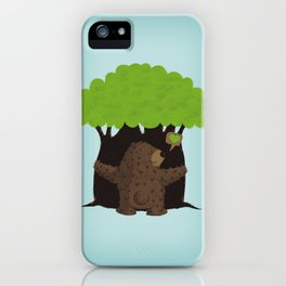 LOVE TREES iPhone Case