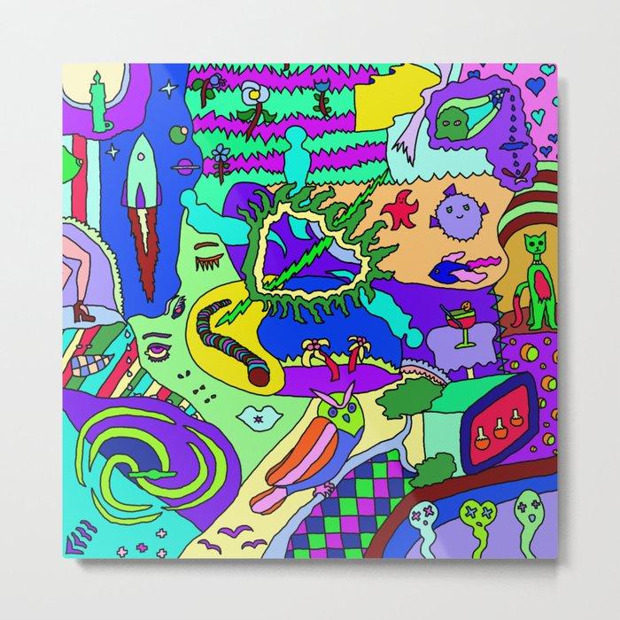 Abstract 20 Metal Print
