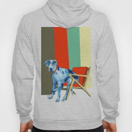 Great Dane in Chair #1 Hoody